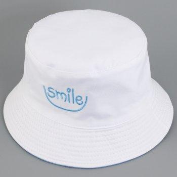 Шляпа-панама Traum 2524-34 56-57 см Голубая с белым (4820002524344)