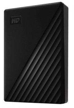 "Зовнішній диск HDD External 2.5"" 5TB Western Digital My Passport Black USB 3.2 (WDBPKJ0050BBK-WESN)"