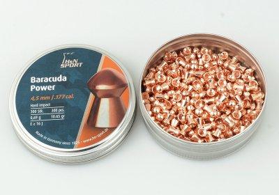 Свинцовые пули H&N Baracuda Power (0.69г, 300 шт)