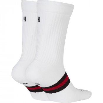 Баскетбольні шкарпетки (2 пари) Air Jordan Legacy Crew 2ppk (SK0025-100) Білий