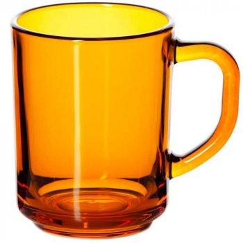 Набор чашек стеклянных Pasabahce Pub ENJOY ORANGE упаковка 12 шт (55029)