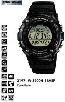 Годинник CASIO W-S200H-1BVEF
