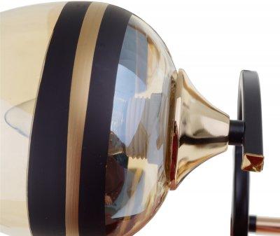 Люстра Brille LK-716S/5 E27 BK+FG (24-562)