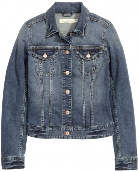 Джинсова куртка H&M 369332 Синя