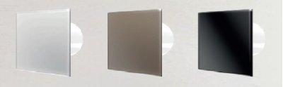 Вытяжной вентилятор Dospel VERONI GLASS 100 BLACK (007-7608B)