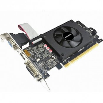 Відеокарта GigaByte GeForce GT710 2GB LP (GV-N710D5-2GIL) (F00237224)
