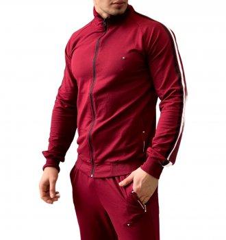 Спортивний костюм чоловічий 106 бордо