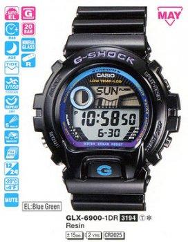 Годинник CASIO GLX-6900-1ER