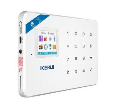 Комплект беспроводной gsm WiFi сигнализации для 2-комнатной квартиры Kerui W18