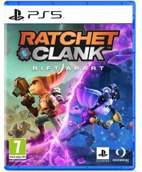 Игра Ratchet & Clank: Rift Apart для PS5 Стандартное цифровое издание (Blu-ray диск, русская версия)
