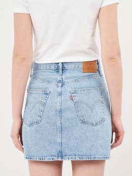 Джинсова спідниця Levi's Ribcage Skirt Living Legend 27889-0000