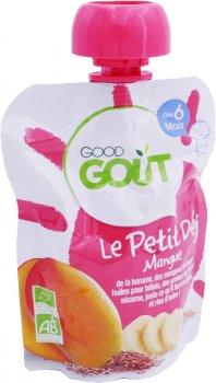 Дитяче фруктове пюре Good Gout Манго 70 г (3760269310735)