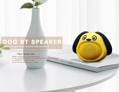 Bluetooth колонка для дітей Щеня, жовта, iCutes (MB-M818)