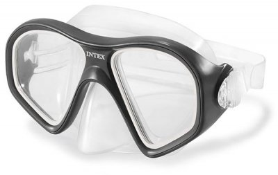 Маска для плавания Intex 55977 Reef rider masks (черная)