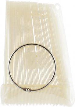 Палитра для нанесения лаков Avenir Cosmetics на кольце Молочная (2009610008947)