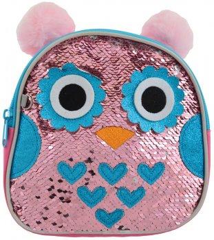 Рюкзак детский Yes K-25 Owl 0.16 кг 18х18х5 см 1.5 л (556505)