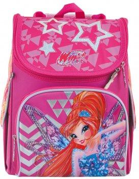 Рюкзак шкільний каркасний 1 Вересня H-11 Winx 0.95 кг 26х33.5х13.5 см 12 л (556152)