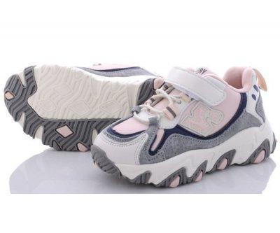 Натуральні кросівки Kimbo-o OO-WP Біло-рожеві (nv2983)