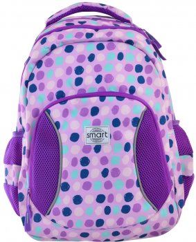 Рюкзак шкільний Smart SG-25 Violet Spots 0.78 кг 30х43х13 см 16.5 л (557079)