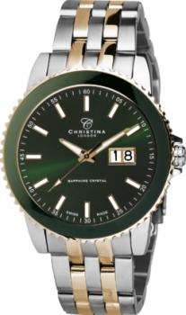 Годинник CHRISTINA 519BGR-Ggreen