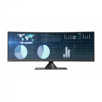 "МонІтор Lenovo 43,4"" ThinkVision P44w-10 (61D9RAT1EU)"