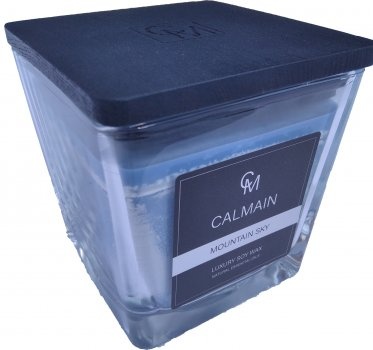 Ароматична свічка Calmain 430 г Гірське небо (kI6323)
