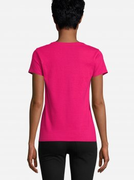 Футболка Sol's Crusader Women Organic Cotton 03581140 Розовая