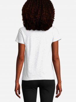 Футболка Sol's Crusader Women Organic Cotton 03581300 Светло-меланжевая
