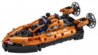 Конструктор LEGO Technic Спасательное судно на воздушной подушке 457 деталей (42120)