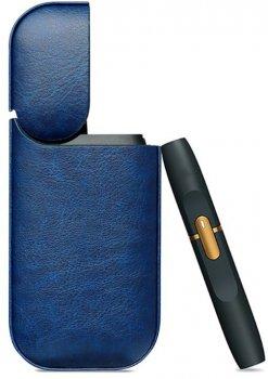Шкіряний чохол Magic Cover для IQOS 2.4 Plus Blue (10705)