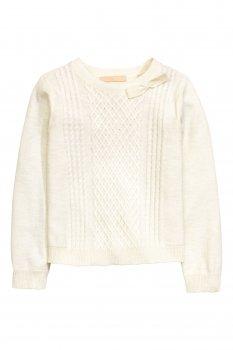 Джемпер H&M 0393918 4 Білий
