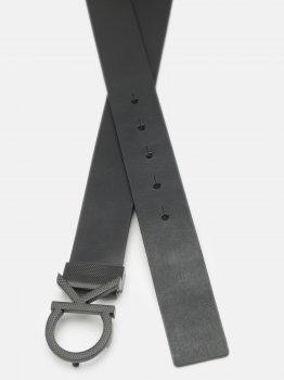 Мужской ремень кожаный Calvin Klein Jeans Adj Ck Pique 35Mm K50K506509-BAX 95 см Ck Black (8719853532874)