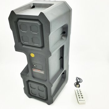 Портативная Bluetooth колонка KTS-1048, серебристая