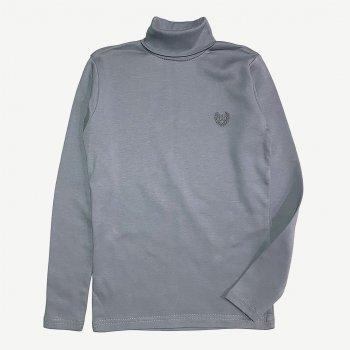 Гольф Umka підлітковий з вишивкою темно-серый 00009563