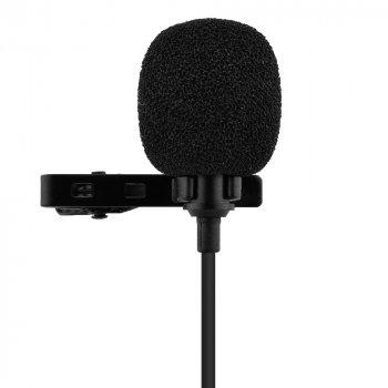 Петличний конденсаторний мікрофон Soncm XTY-303C Black