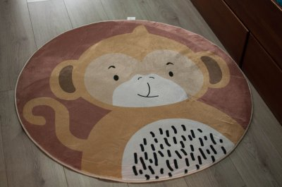 Ковер детский Мавпеня - Ø1м. КилимОК