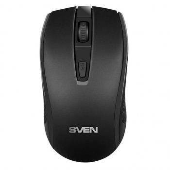 Мишка SVEN RX-220W Black