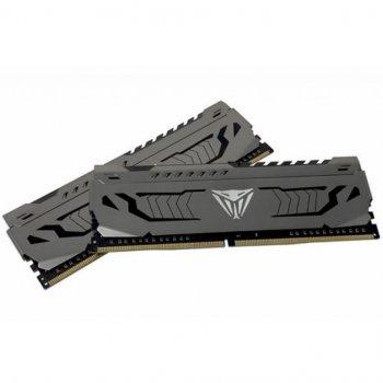 Модуль памяти для компьютера DDR4 16GB (2x8GB) 4400 MHz Viper Stee Patriot (PVS416G440C9K)