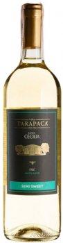 Вино Tarapaca Santa Cecilia Semi Sweet White белое полусладкое 0.75 л 10.5% (7804436720852)