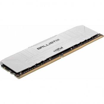 Модуль памяти для компьютера DDR4 8GB 3200 MHz Ballistix White MICRON (BL8G32C16U4W)