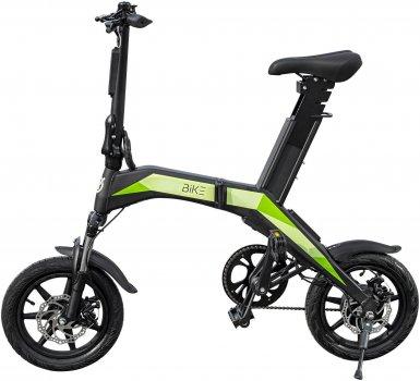 Електровелосипед Like.Bike Neo + (gray/green)