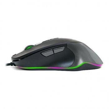 Мышка REAL-EL RM-780 Gaming RGB, black-grey