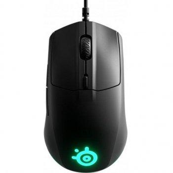 Мишка SteelSeries Rival 3 Black (62513)