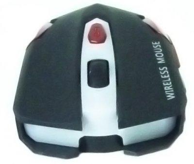 Мишка оптична безпровідна UKC G111 5590 Чорний/Червоний