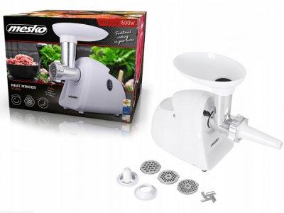 Электрическая мясорубка (электро мясорубка) Mesko MS-4809 1500W White