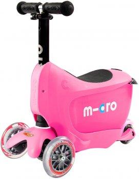 Самокат Micro Mini 2Go Deluxe Plus Pink (MMD033) (7640108563323)
