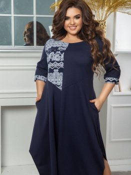 Плаття Seven 658 Темно-синє