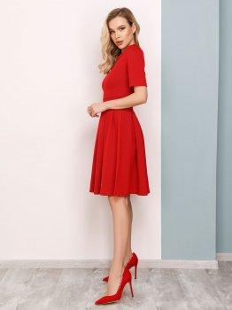 Плаття ISSA PLUS 12505 Червоне