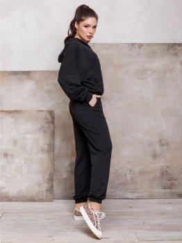 Спортивний костюм ISSA PLUS 12449 Чорний
