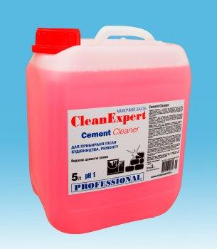 Засіб для видалення цементного нальоту Clean Expert і глибокого очищення плитки Cement Cleaner 5 л